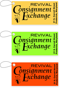 Consignment Store Tags