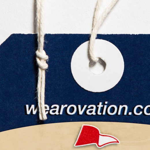 Knotted String Hang Tag Attachment