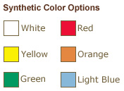 Synthetic Tag Color Options from St. Louis Tag