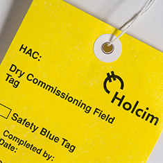 Synthetic Hang Tag Material