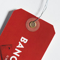 Custom Clipped Hang Tags
