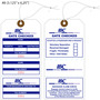 Custom Airline / Baggage Hang Tag - IBC