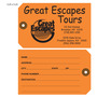 Custom Travel Hang Tag - Great Escapes