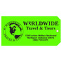 Custom Travel Hang Tag - Worldwide Travel & Tours