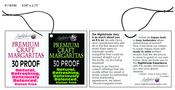 Custom 4 Color Hang Tag - Nightshade Partners Inc