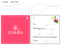 Custom 4 Color Hang Tag - Credo