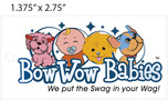 Custom 4 Color Hang Tag - BowWow Babies
