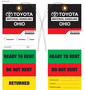 Custom 4 Color Hang Tag - Toyota Ohio