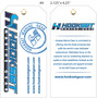 Custom 4 Color Hang Tag - Hookset Marine Gear