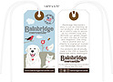 Custom 4 Color Hang Tag - Bainbridge Mercantile