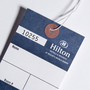 Hang Tag with Consecutive Numbering - Hilton Hotel & Resorts