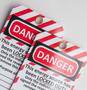 Laminated Danger Hang Tag
