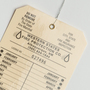 Laminated Fire Protection Company Hang Tag - St. Louis Tag
