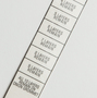 Laminated Hang Tag for Onion Grommet - St. Louis Tag
