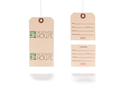 Horizontal Perforated Hang Tag - The Bowery House