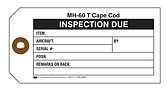 Aircraft Part Inspection Due Tag – U.S. Government Publishing Office
