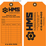 HMS Plumbing & Mechanical Backflow Inspection Record Tag