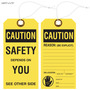 Caution Safety Tag