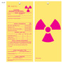 Caution Hazardous Material Hang Tag