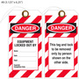 Custom Danger/Equipment Lockout Hang Tag
