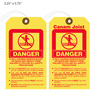 Canam Joist Danger Falling Tag