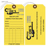 Ken Cooks Backflow Inspection Record Tag
