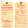 IPI Fire Protection Inspection Tag