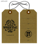 Custom Printed Growler Hang Tag - Noon Whistle Brewing Company