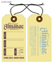 Custom Printed Growler Hang Tag - Almanac Beer Company