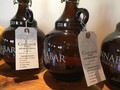 Custom Tagged Growlers - Cinnabar Hang Tags on Growler