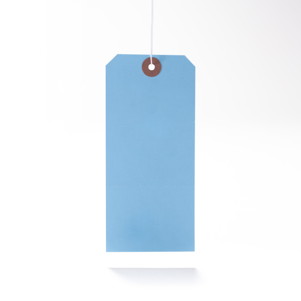 Standard Color Light Blue Hang Tag From St Louis