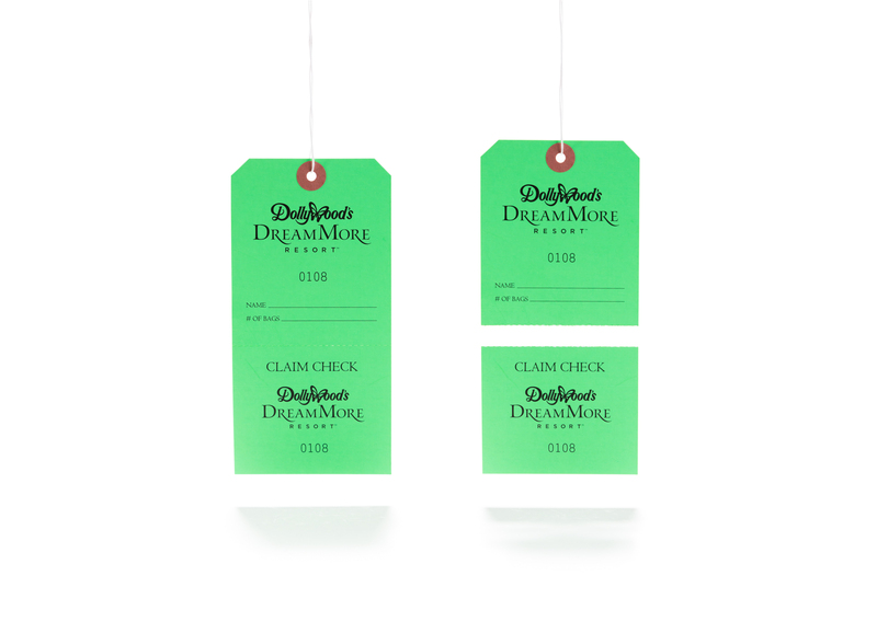 Top St. Louis Tag | Custom Hang Tag Options - Perforation OY58