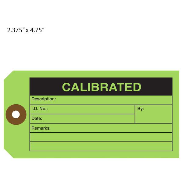 custom printed calibration hang tags st louis tag With calibration tag