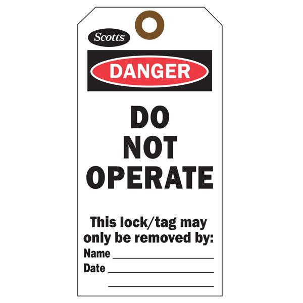 Custom Printed Danger Hang Tags St Louis Tag