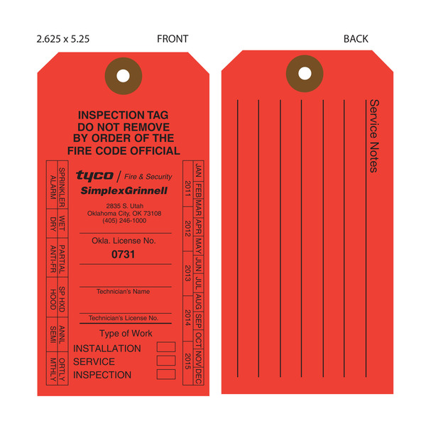 Quality inspection checklist template quotes for Fire extinguisher inspection tag template