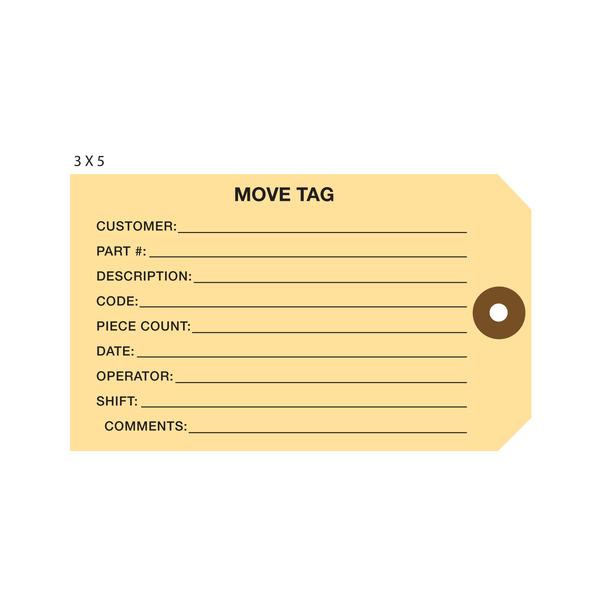 Custom Printed Move Hang Tags | St  Louis Tag
