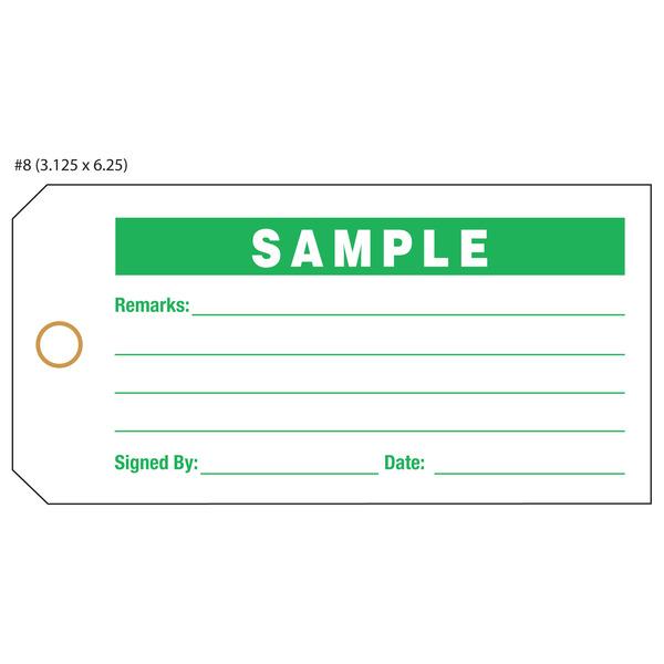 Custom Printed Sample Hang Tags | St. Louis Tag