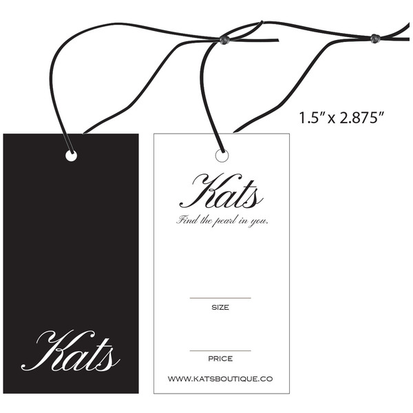 Custom Apparel, Garment, Clothing Hang Tags   St  Louis Tag