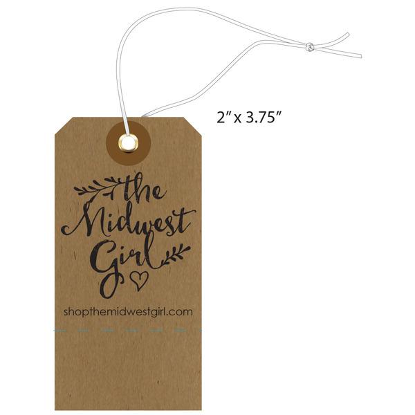 Custom Apparel, Garment, Clothing Hang Tags | St. Louis Tag