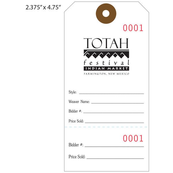 Custom Printed Price Tags / Hanging Price Tags   St  Louis Tag