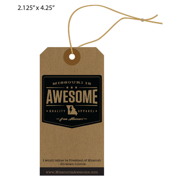 Custom Apparel, Garment, Clothing Hang Tags | St. Louis Tag