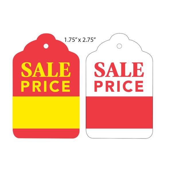 Custom Printed Price Tags / Hanging Price Tags | St. Louis Tag