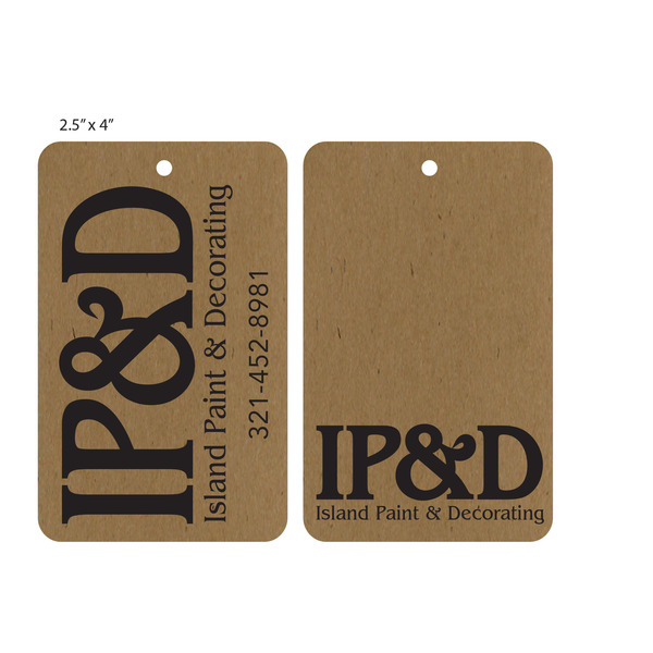 Custom Eco-Friendly Recycled Paper Hang Tags