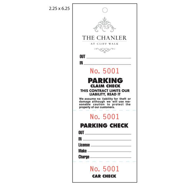 parking pass template