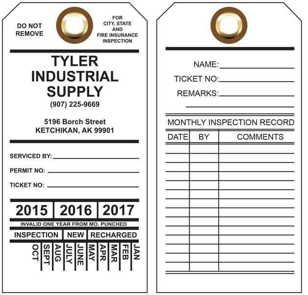 Custom Printed Tyvek Hang Tags | St  Louis Tag